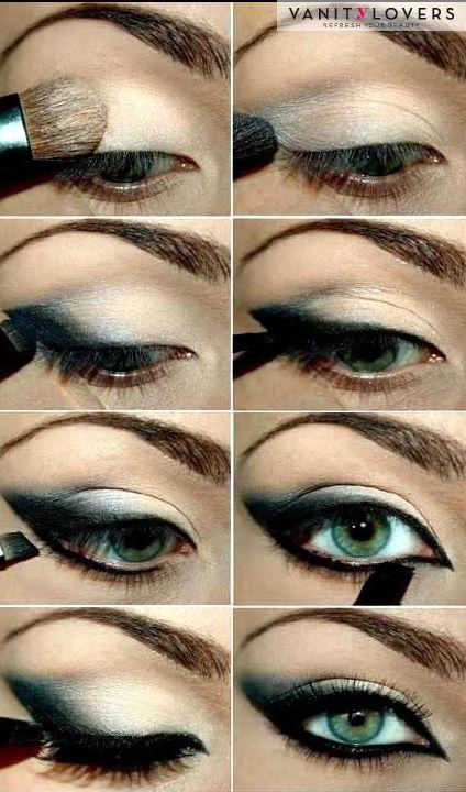 Tutorial smokey eyes semplice e dai toni opachi https://www.facebook.com/photo.php?fbid=10152174423553387&set=pb.278789638386.-2207520000.1397138321.&type=3&theater