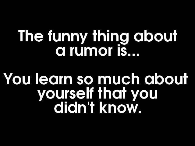 Quotes About Rumors Quotes And Sayi...