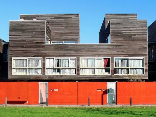 sociale huisvesting Hollainhof te Gent, België