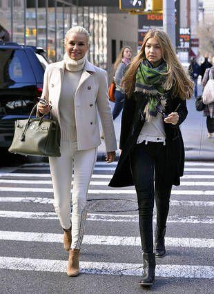 Yolanda Foster Decorates Daughter Gigi's NYC Apartment