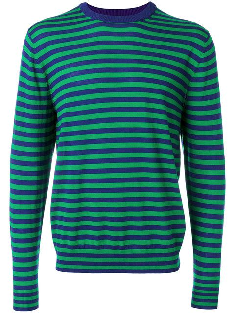 PS BY PAUL SMITH crew neck striped jumper. #psbypaulsmith #cloth #jumper