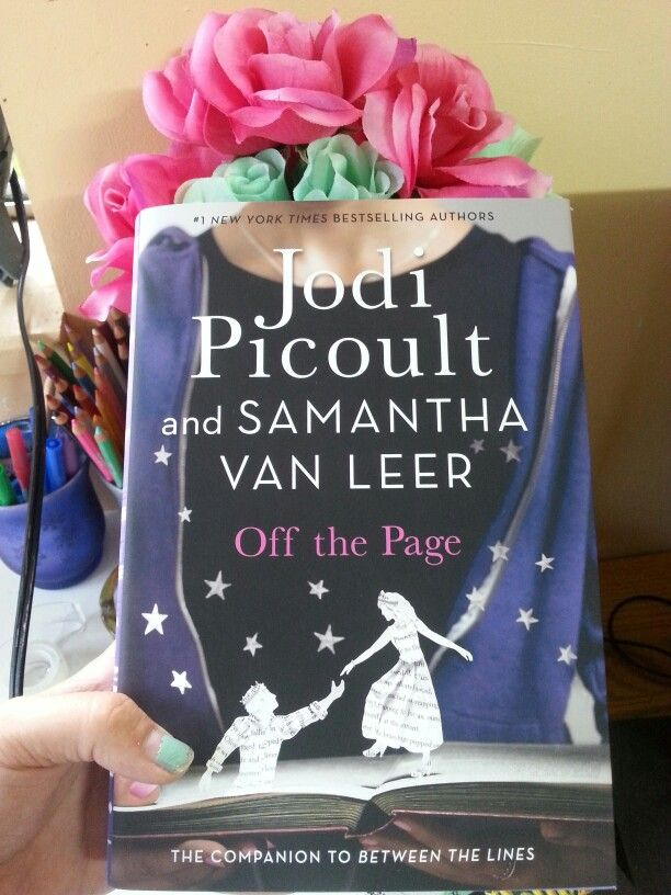 Can't wait to start this seqaul to Between the lines by Jodi Picoult and her daughter Samantha Van Leer! Love the concept of the main character and reader falling in love with each other! So cute
