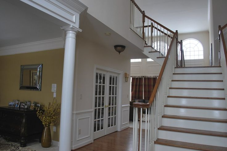 Open Foyer Floor Plan : Best images about ideas for the house on pinterest