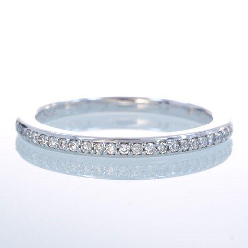 Platinum Diamond Anniversary Wedding Stackable Band on Etsy, $750.00