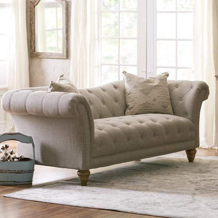 Lark Manor Versailles Chesterfield Sofa Furniture Living Room Sofa Chesterfield Sofa