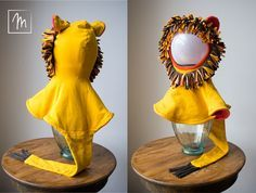 Faschingskostüm Löwe nähen | Halloween costume lion DIY sewing | www.moritzwerk.de