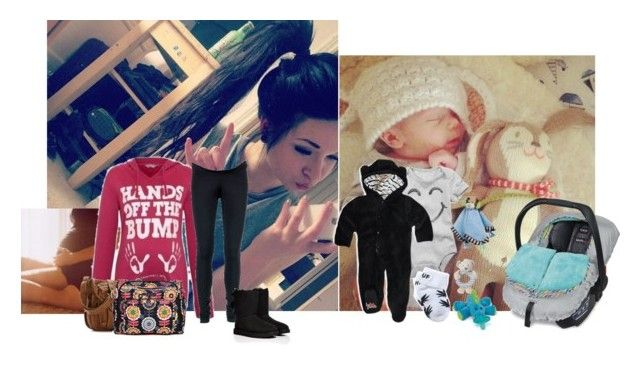 """""""takin my prince shopping anyone want to join?~zara"""" by anons-foreverbaby ❤ liked on Polyvore featuring Britax, Isabella Oliver, UGG Australia, Ju Ju Be, 77kids, HUF and Equipment"""