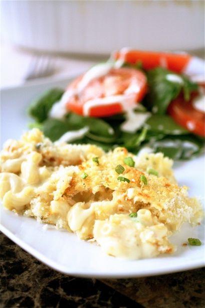 White Truffle Macaroni and Cheese http://www.thecurvycarrot.com/2012/01/26/white-truffle-macaroni-and-cheese/
