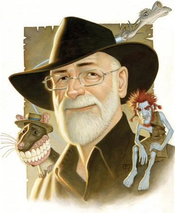 Anything written by Sir Terry Pratchett is amazing! He's a comedy genius!