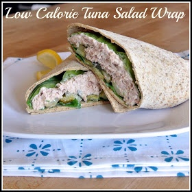Mom what 39 s for dinner low calorie tuna salad wrap for Tuna fish salad calories