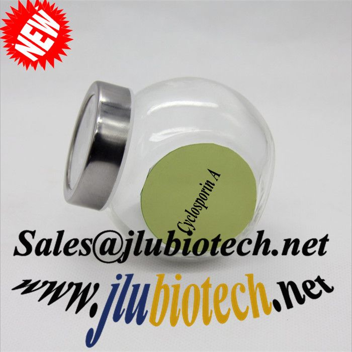 High Quality Raw Material Cyclosporin A sales@jlubiotech.net