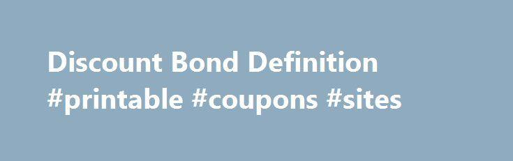 Ex coupon bond definition