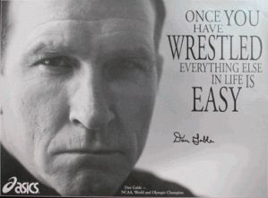 """dan gable legend on the mat in the coachs chair essay In a wrestling life: the inspiring stories of dan gable, famed wrestler and wrestling coach dan gable tells  the book """"a wrestling life"""" by: dan."""