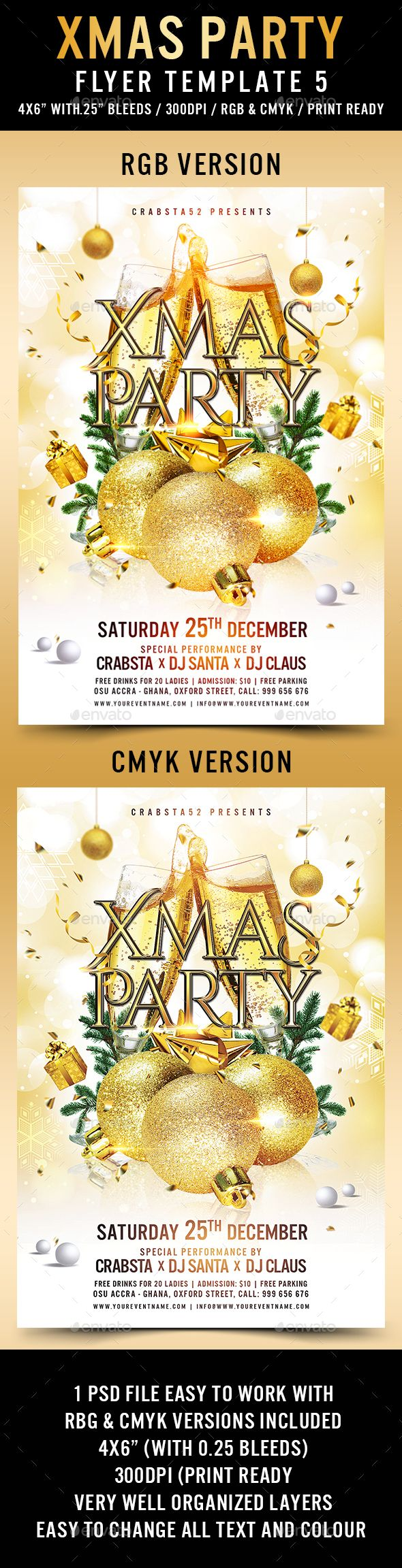 best images about holidays flyer design xmas party flyer template 5