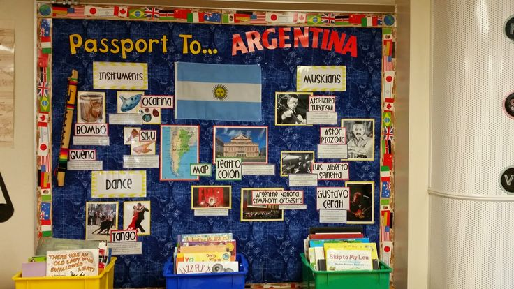 Passport to Argentina. IB World School and Music. From blog Hillary's Highlights.