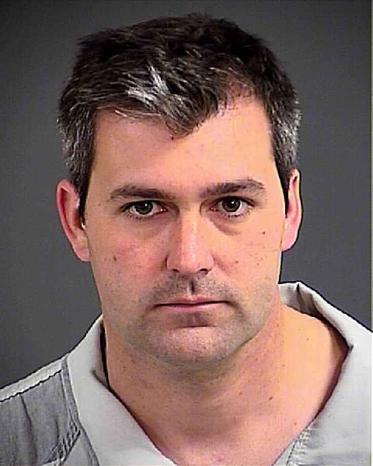 The white South Carolina police officer charged with murder of an unarmed black man Walter Scott