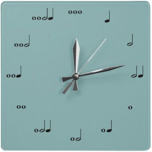 """I would love this clock. Just give it to me now. Smart musician's clock. """"what time is it? well its always time to play!"""""""