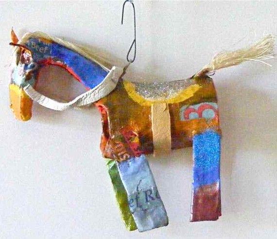 Circus Horse Ornament
