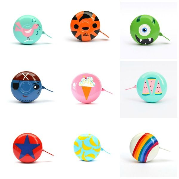 Great gifts for 4 - 6 year olds: I am a huge fan of the beautiful hand-painted bicycle bells from Newcastle (NSW) based Beep Bicycle Bells. With lots of designs for kids and adults, they make a unique gift for anyone who loves riding their bike or scooter.