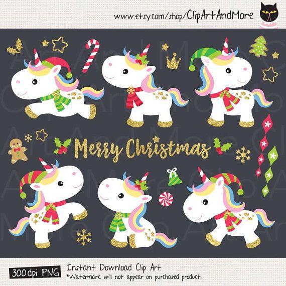 21++ Free christmas unicorn clipart info
