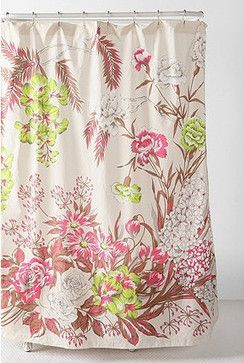 Neon Flower Shower Curtain - eclectic - shower curtains - Urban Outfitters $44