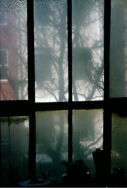 By Saul Leiter, c.1955, Sky Light. It's sometimes about what we don't say