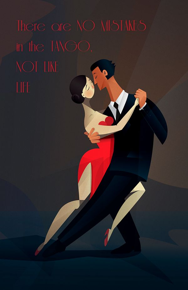 TANGO retro poster on Behance