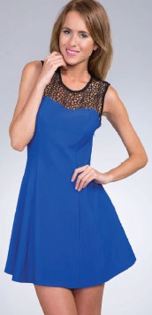 Web Frontage Dress by Alibi. Now: $54.99  #statement #vintage inspired