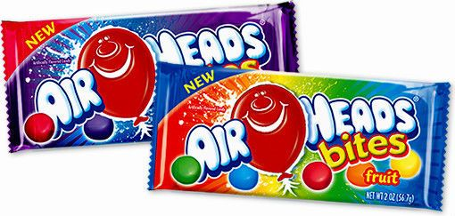 Airheads Bites Berry Or Fruit Chewy Candy