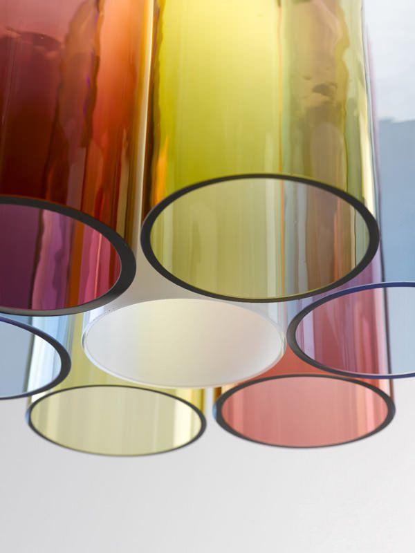 Jar RGB la suspension colorée par Arik Levy