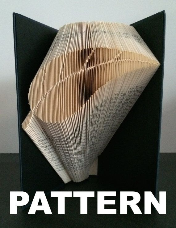 Book Folding Pattern  Leaf  Free Pictorial Instructions