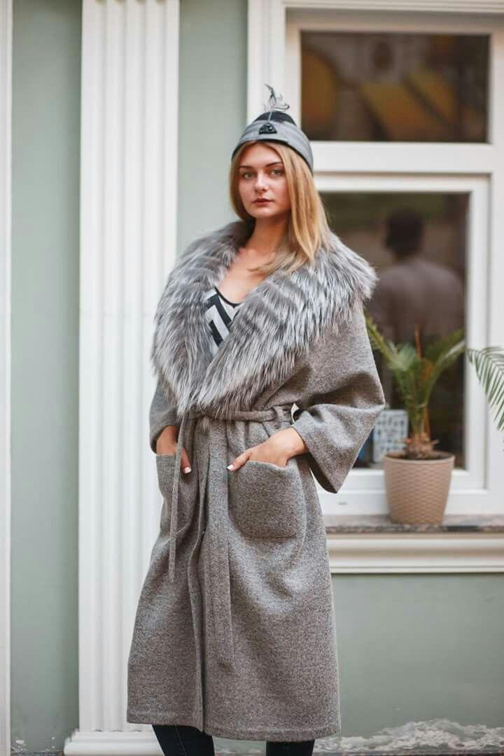Virgin Wool Angora Coat Fall/winterErmanno Scervino 2OFna7tNv