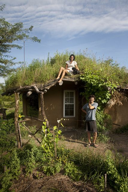 cob house....I really love this house...it must be satisfying and fun to live here!  oh this is the dream