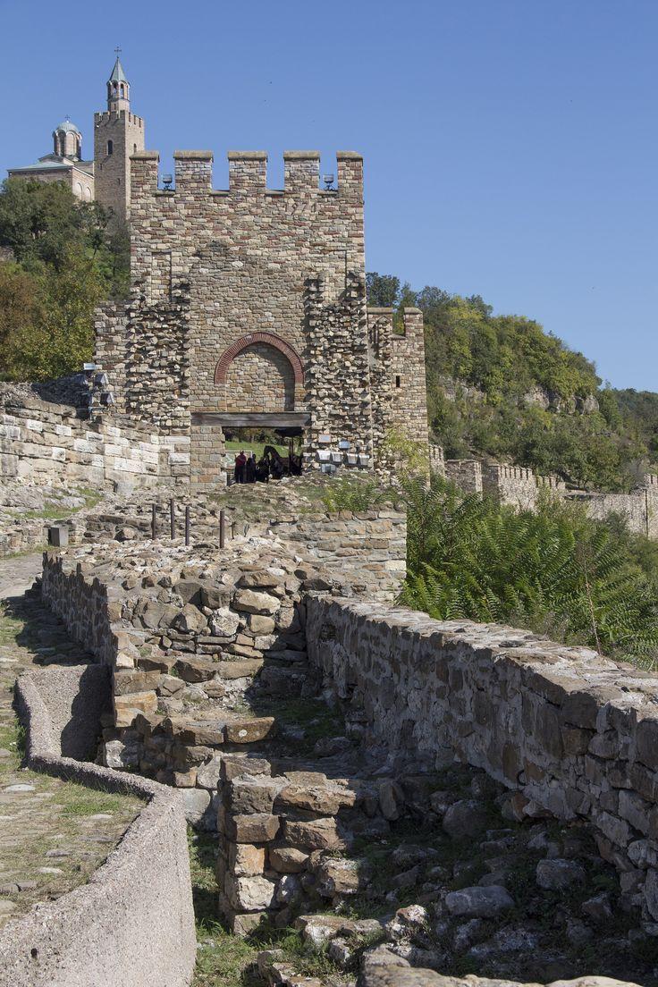 Tsarevetsburcht in Veliko Tarnovo (Bulgarije)