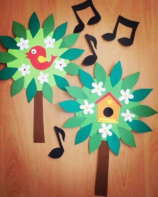 Preschool Bird Crafts Crafting