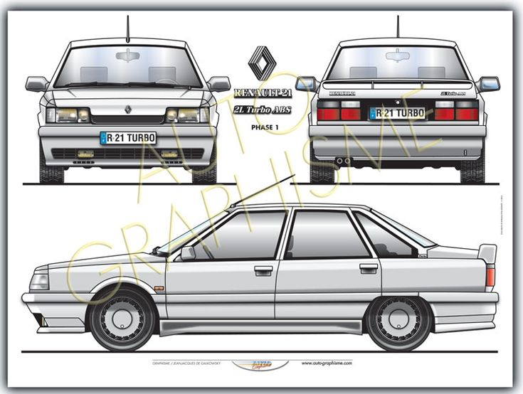 Renault R 21 Turbo Phase 1
