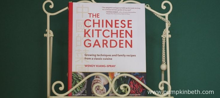 Book Review - The Chinese Kitchen Garden - Pumpkin Beth