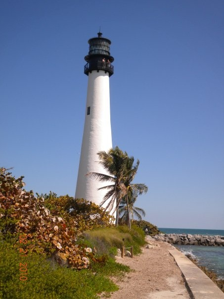 Light house in Key Biscayne