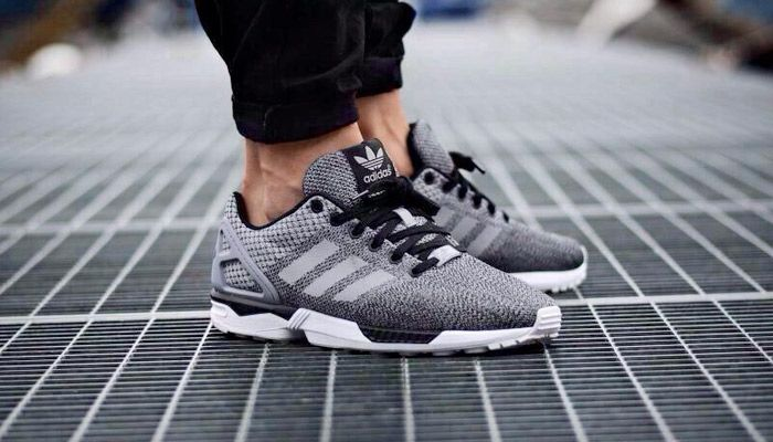 Kicks Deals – Official Website adidas ZX Flux 'Reflective Snakeskin' Silver - Kicks Deals - Official Website