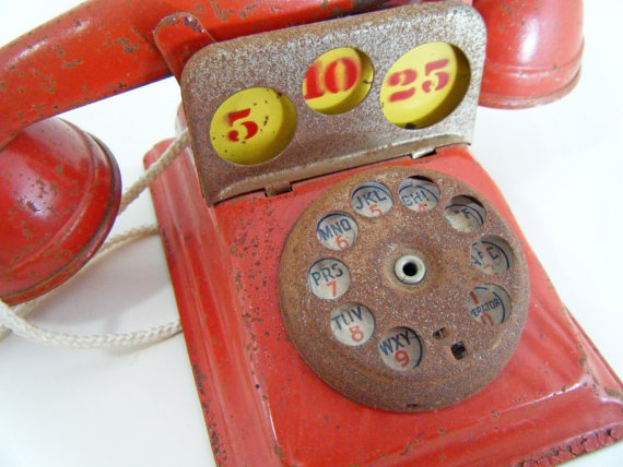 Vintage Toy Telephone Bank, Vintage Toys, I Remember These! -- ALifeSettlement.com