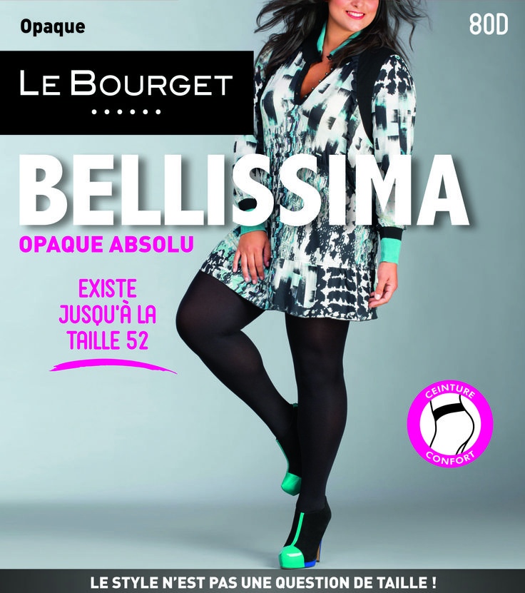 Collant opaque Bellissima | Le Bourget