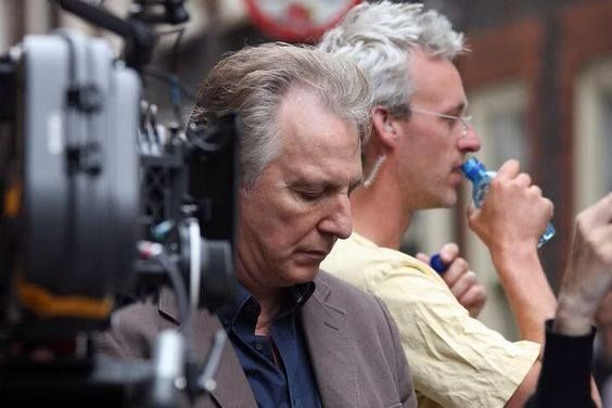 """Alan, 2010. """"The Song of Lunch"""", behind the scenes"""