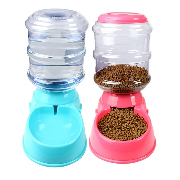 35l large automatic pet feeder fountain water food