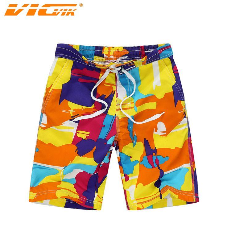 VICVIK Пляжная Одежда Для Мальчиков Мода Совета Шорты Дети Бермуды Плавать Шорты Для Серфинга Кампании Быстрое Высыхание Печени Surfwear D03X16 #men, #hats, #watches, #belts, #fashion, #style