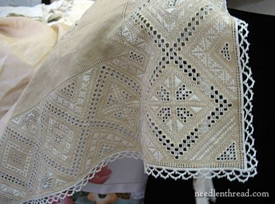 Lefkara Lace from Cyprus ~ featured on needlenthread