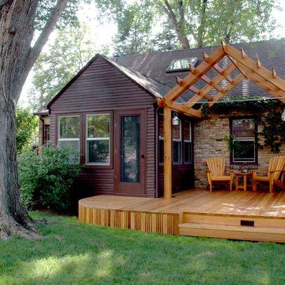 Pergola Peaked Roof Build Cool Stuff Pinterest