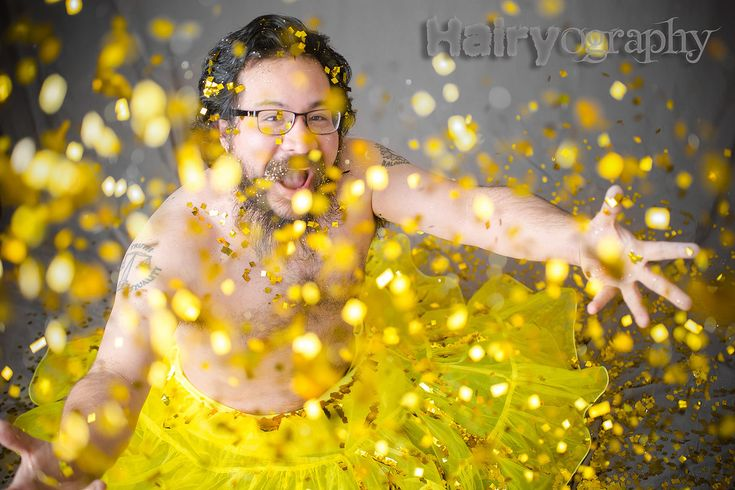 You Can Now Buy A Calendar Full Of Hairy Men Dressed As Fairies