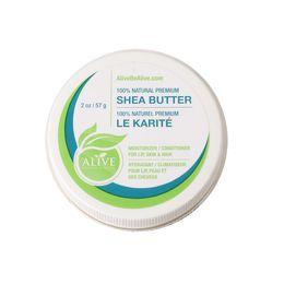 Be Alive 100% Natural Premium Shea Butter (2oz)