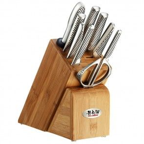 Global Knives Global Knife Block Set 10 Piece Takashi