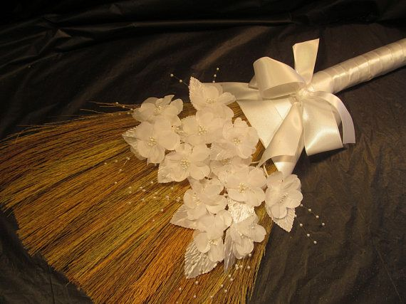 Wedding Jump Broom Closeout Sale 22 00 Was 59 00 Sold As Is New Never Used Hand Made Broom In Photo I Handmade Jumping The Broom Types Of Flowers